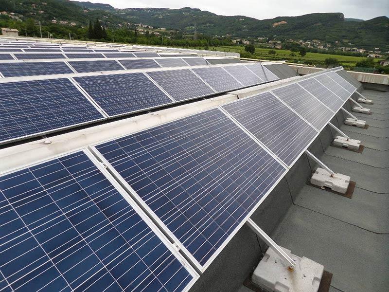 Impianto fotovoltaico - particolare