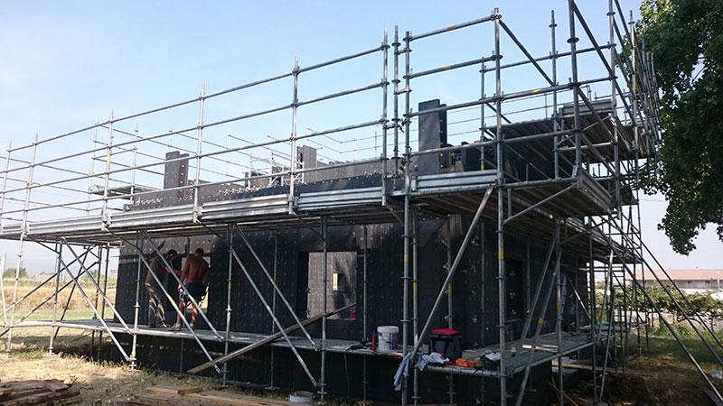 Opere edili - Costruzione di case prefabbricate