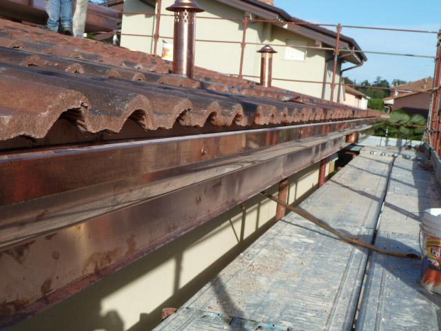 Realizzazione tetto tradizionale